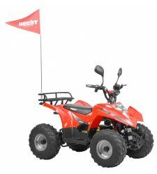 ATV electric cu oglinzi pentru copii, tahometru, 36V / 20 Ah / 750W, 3+1 viteze, Hecht 54752