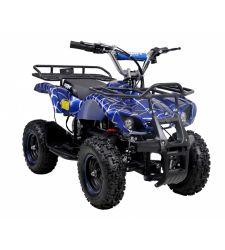 ATV electric pentru copii, 36V / 12Ah / 800W, 25 Km/h, 3+1 viteze, albastru, Hecht 56802