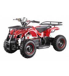 ATV electric pentru copii, 36V / 12Ah / 800W, 25 Km/h, 3+1 viteze, rosu, Hecht 56800