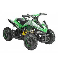ATV electric pentru copii, 36V / 12Ah / 800W, 25 Km/h, 3+1 viteze, verde, Hecht 54804