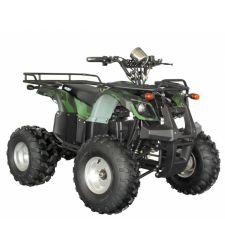 ATV electric pentru copii, 60V / 20Ah / 1200W, verde camuflaj, Hecht 56150