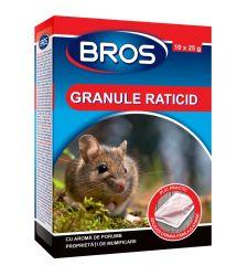 Granule raticide soareci si sobolani (250 g), Bros 048