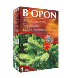 Ingrasamant granulat de toamna pentru conifere (1 kg), Biopon 1078