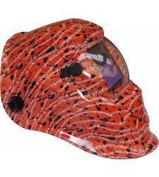 Masca sudura cu cristale lichide music Red, Proweld YLM-74L0A