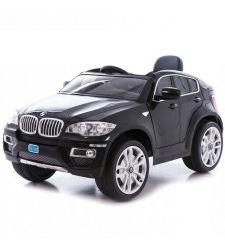 Masina electrica BMW X6 pentru copii, 12V / 7Ah / 2 x 45W, negru, Hecht BMW X6-BLACK