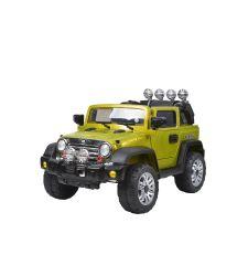 Masina electrica cu telecomanda Jeep, 30W, verde, Hecht 51235