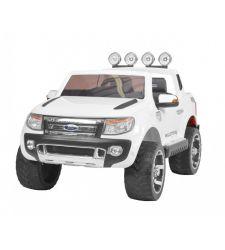 Masina electrica FORD RANGER pentru copii, 2V / 10Ah / 2 x 35W, alb, Hecht Ford Ranger-White