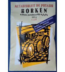 Metabisulfit de potasiu Borken (100 g)