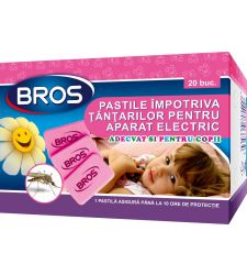 Pastile aparat electric impotriva tantarilor pentru copii (20 buc), Bros 371