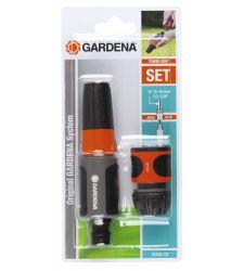 "Set spritzer si conector pentru furtun 1/2"" si 5/8"", Gardena 18288"